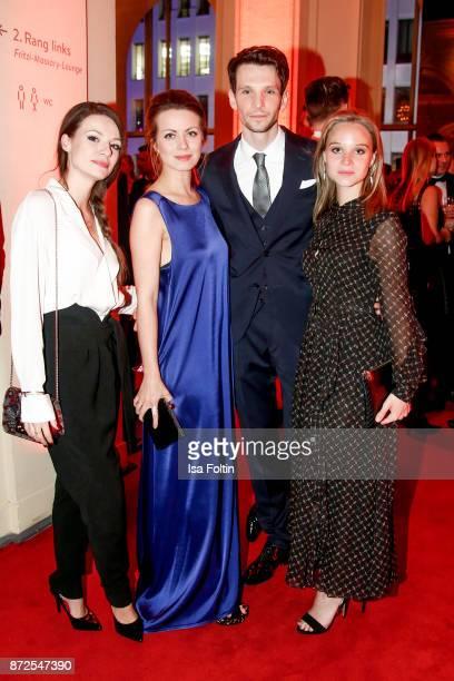 German actress Julia Hartmann German actress Alice Dwyer with her boyfriend German actor Sabin Tambrea and German actress Sonja Gerhardt attend the...