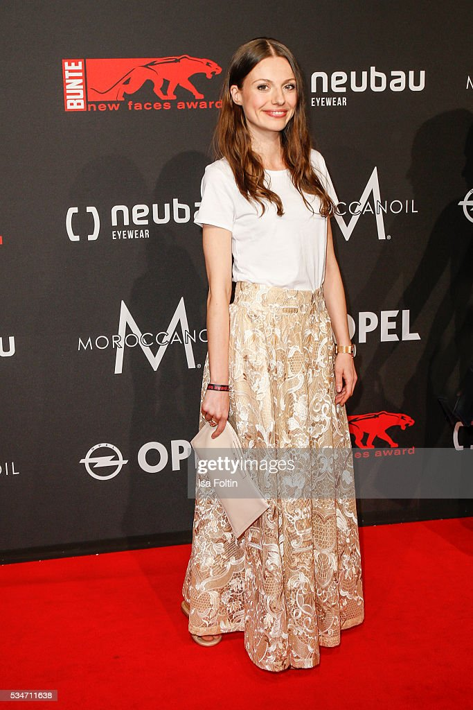 German actress Julia Hatmann attends the New Faces Award Film 2016 at ewerk on May 26, 2016 in Berlin, Germany.