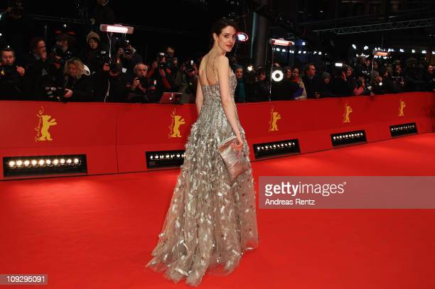 German actress Julia Malik attends the Award Winner Photocall during day ten of the 61st Berlin International Film Festival at the Grand Hyatt on...