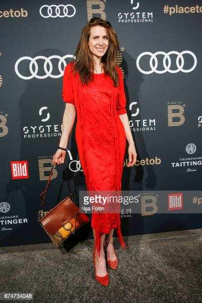 German actress Julia Malik attends the Place To Be Party after the Lola German Film Award on April 28 2017 in Berlin Germany