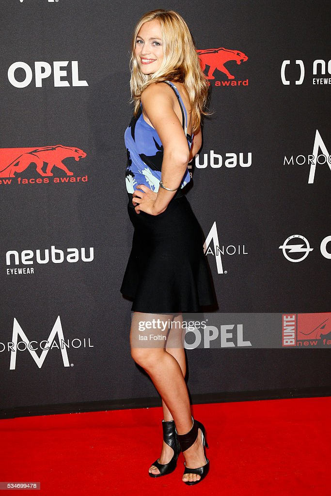 German actress Julie Engelbrecht attends the New Faces Award Film 2016 at ewerk on May 26, 2016 in Berlin, Germany.