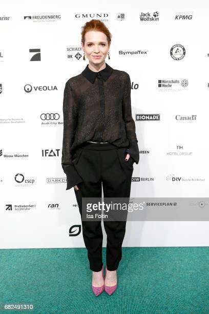 German actress Karoline Herfurth attends the GreenTec Awards at ewerk on May 12 2017 in Berlin Germany