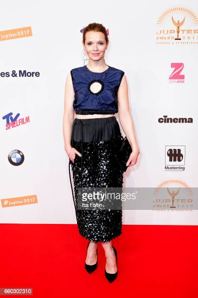 German actress Karoline Herfurth attends the Jupiter Award at Cafe Moskau on March 29 2017 in Berlin Germany