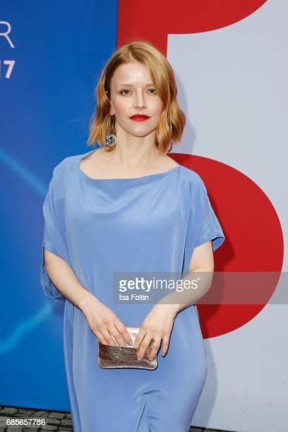 German actress Karoline Schuch attends the Bayerischer Fernsehpreis 2017 at Prinzregententheater on May 19 2017 in Munich Germany