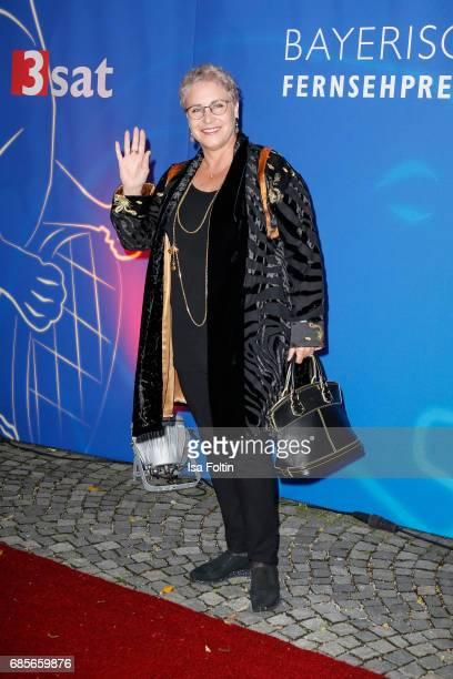 German actress Katerina Jacob attends the Bayerischer Fernsehpreis 2017 at Prinzregententheater on May 19 2017 in Munich Germany