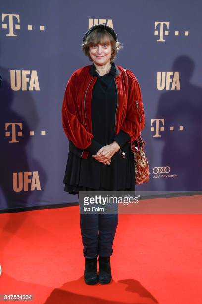 German actress Katharina Thalbach attends the UFA 100th anniversary celebration at Palais am Funkturm on September 15 2017 in Berlin Germany