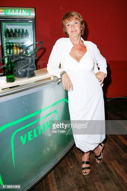 German actress Katrin Sass aduring the summer party 2017 of the German Producers Alliance on July 12 2017 in Berlin Germany