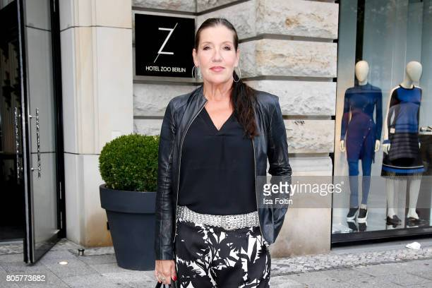 German actress Katy Karrenbauer during the host of Annabelle Mandengs Ladies Dinner at Hotel Zoo on July 2 2017 in Berlin Germany