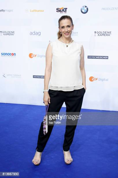 German actress Kristin Meyer attends the summer party 2017 of the German Producers Alliance on July 12 2017 in Berlin Germany