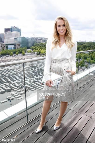 German actress LaraIsabelle Rentinck attends the Thomas Sabo Press Cocktail during the MercedesBenz Fashion Week Berlin Spring/Summer 2017 at China...