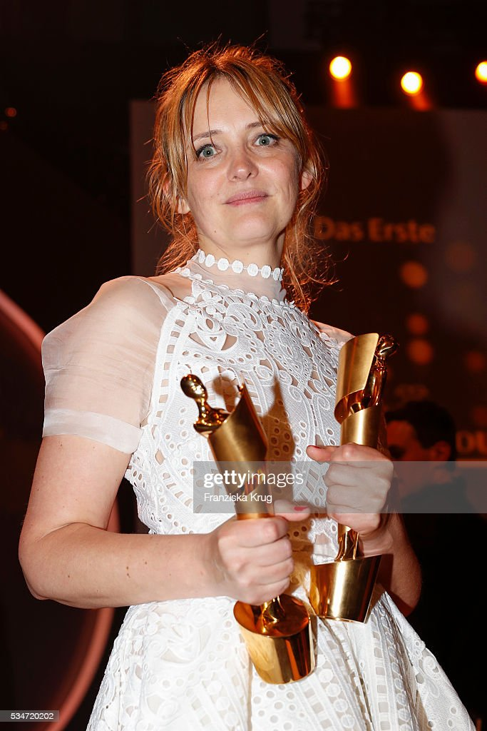 German actress Laura Tonka during the Lola - German Film Award (Deutscher Filmpreis) 2016 - Show on May 27, 2016 in Berlin, Germany.