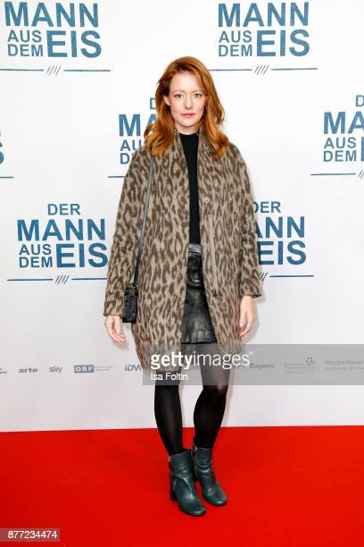 German actress Lavinia Wilson attends the premiere of 'Der Mann aus dem Eis' at Zoo Palast on November 21 2017 in Berlin Germany