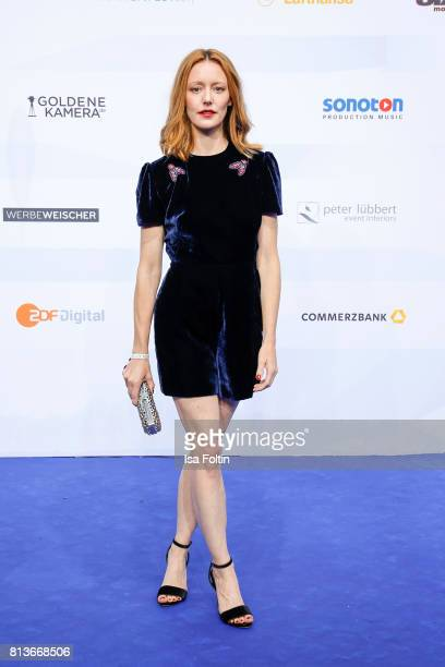 German actress Lavinia Wilson attends the summer party 2017 of the German Producers Alliance on July 12 2017 in Berlin Germany
