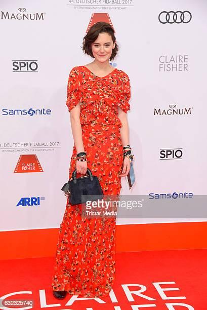German actress Lea van Acken attends the German Film Ball 2017 at Hotel Bayerischer Hof on January 21 2017 in Munich Germany