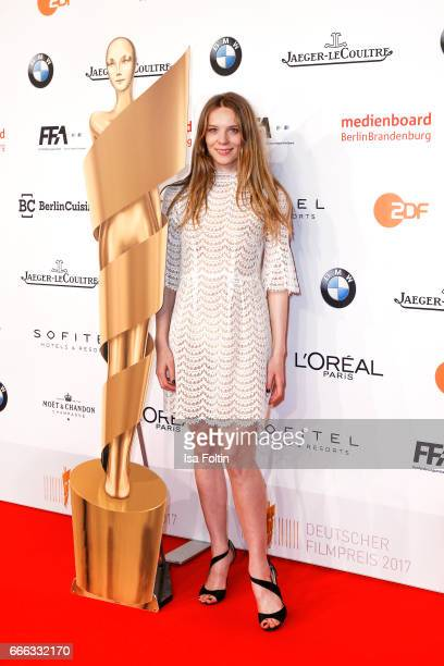 German actress Lilith Stangenberg attends the nominee dinner for the German Film Award 2017 Lola at BMW Niederlassung Berlin on April 8 2017 in...