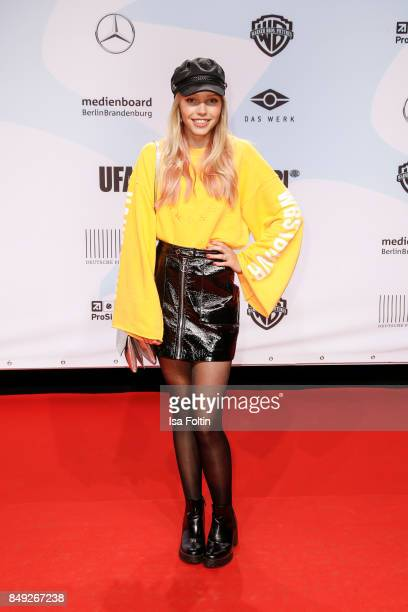 German actress Lina Larissa Strahl attends the First Steps Awards 2017 at Stage Theater on September 18 2017 in Berlin Germany