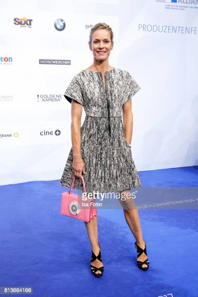 German actress Lisa Martinek attends the summer party 2017 of the German Producers Alliance on July 12 2017 in Berlin Germany