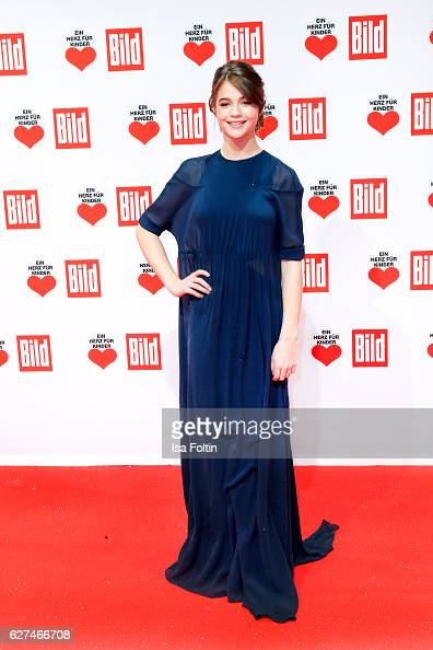German actress LisaMarie Koroll attends the Ein Herz Fuer Kinder gala on December 3 2016 in Berlin Germany