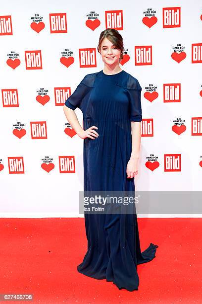German actress LisaMarie Koroll attends the Ein Herz Fuer Kinder gala on December 3 2016 in Berlin Germany