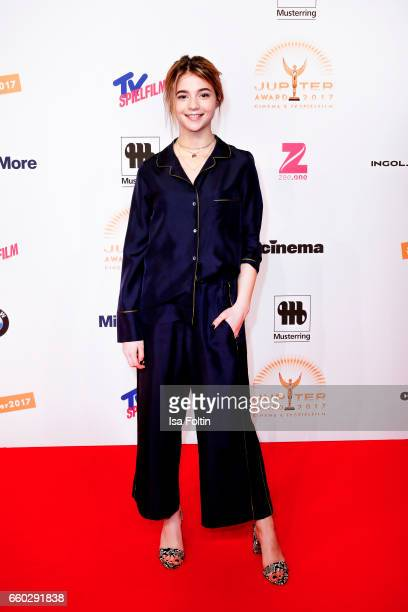 German actress LisaMarie Koroll attends the Jupiter Award at Cafe Moskau on March 29 2017 in Berlin Germany