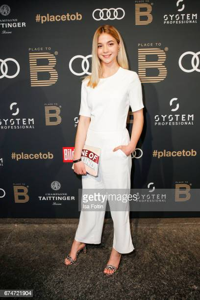German actress LisaMarie Koroll attends the Place To Be Party after the Lola German Film Award on April 28 2017 in Berlin Germany