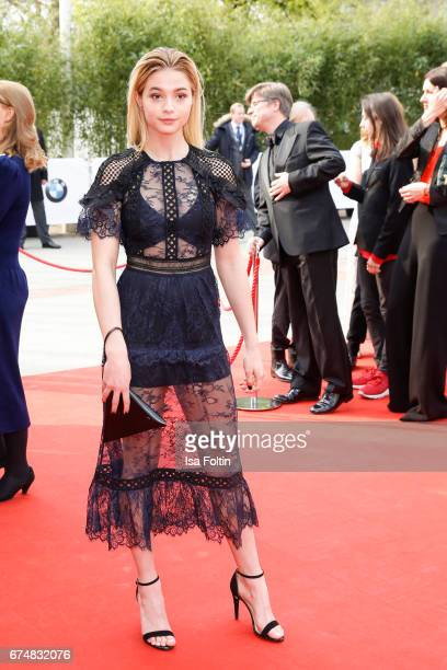 German actress LisaMarie Koroll during the Lola German Film Award red carpet arrivals at Messe Berlin on April 28 2017 in Berlin Germany