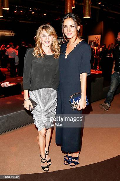 German actress Luise Baehr and german actress Janina Uhse attend the Tribute To Bambi at Station on October 6 2016 in Berlin Germany