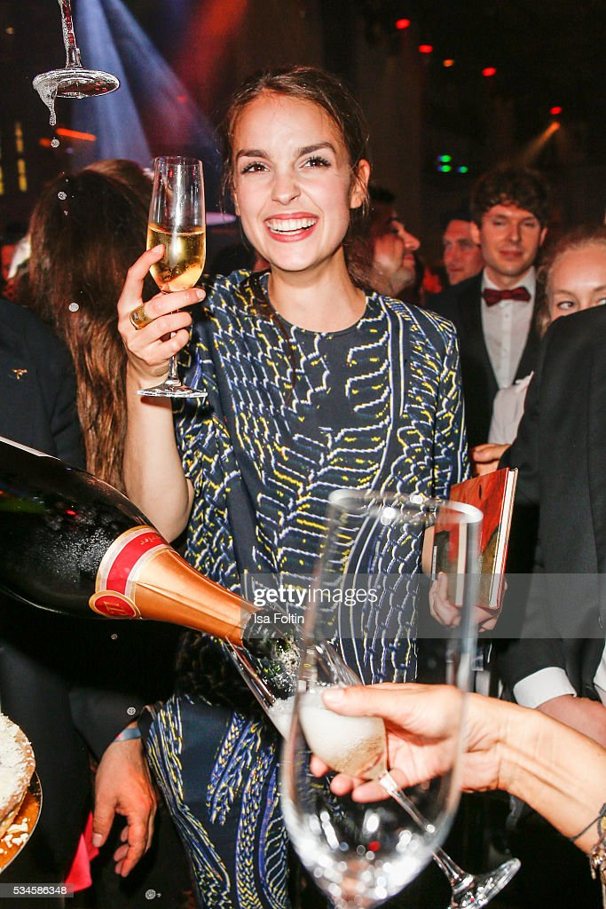 German actress Luise Befort celebrates her birthday during the New Faces Award Film 2016 After Show Party at ewerk on May 26, 2016 in Berlin, Germany.