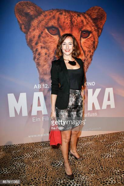German actress Maike von Bremen attends the 'Maleika' Film Premiere at Zoo Palast on October 4 2017 in Berlin Germany