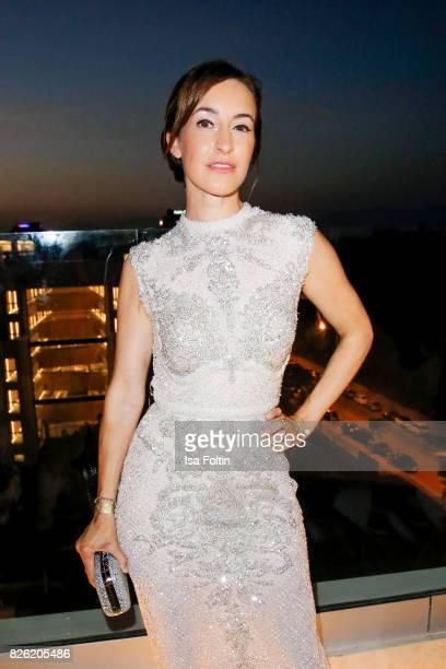 German actress Maike von Bremen attends the Remus Lifestyle Night on August 3 2017 in Palma de Mallorca Spain