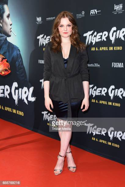 German actress Maria Dragus attends the premiere of the film 'Tiger Girl' at Zoo Palast on March 20 2017 in Berlin Germany