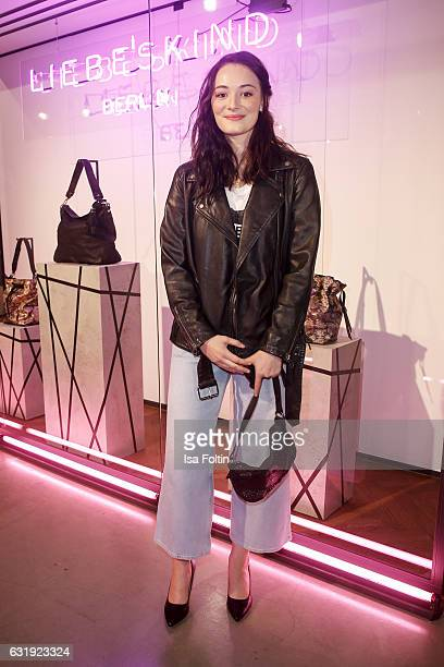 German actress Maria Ehrich attends the Liebeskind Berlin housewarming party during the MercedesBenz Fashion Week Berlin A/W 2017 at on January 17...