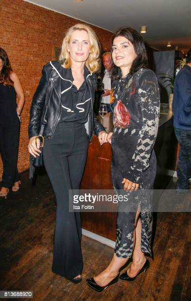 German actress Maria Furtwaengler and German actress Jasmin Tabatabai during the summer party 2017 of the German Producers Alliance on July 12 2017...