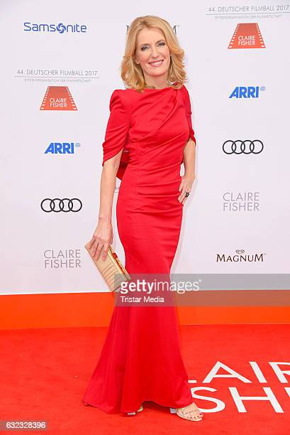 German actress Maria Furtwaengler attends the German Film Ball 2017 at Hotel Bayerischer Hof on January 21 2017 in Munich Germany