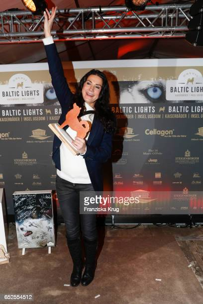 German actress Mariella Ahrens attends the 'Baltic Lights' charity event on March 11 2017 in Heringsdorf Germany Every year German actor Till...