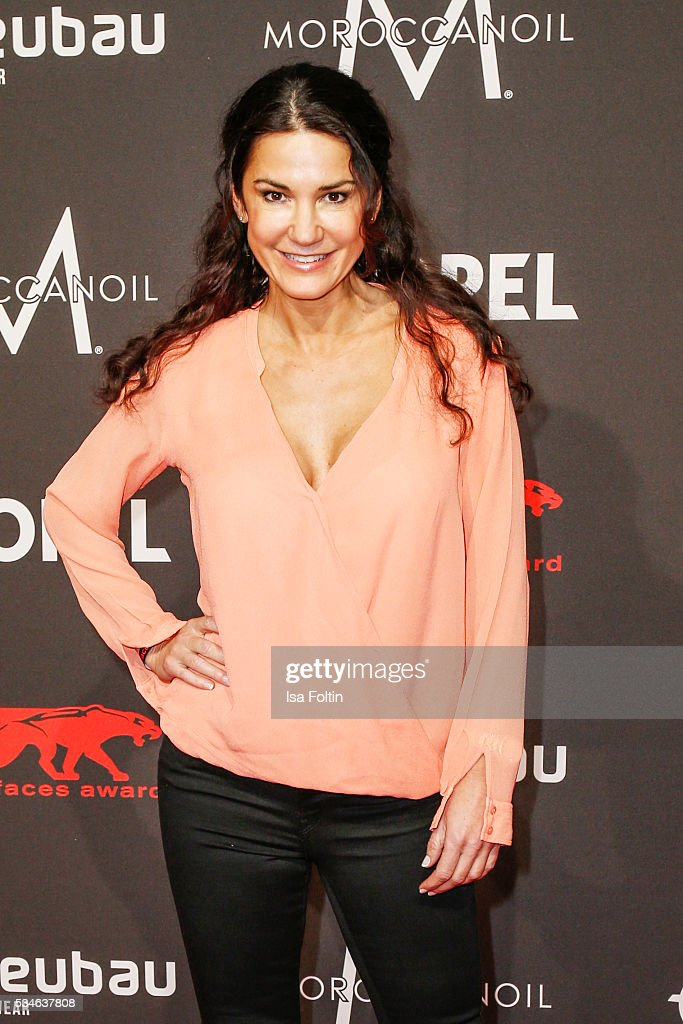 German actress <a gi-track='captionPersonalityLinkClicked' href=/galleries/search?phrase=Mariella+Ahrens&family=editorial&specificpeople=206438 ng-click='$event.stopPropagation()'>Mariella Ahrens</a> attends the New Faces Award Film 2016 at ewerk on May 26, 2016 in Berlin, Germany.