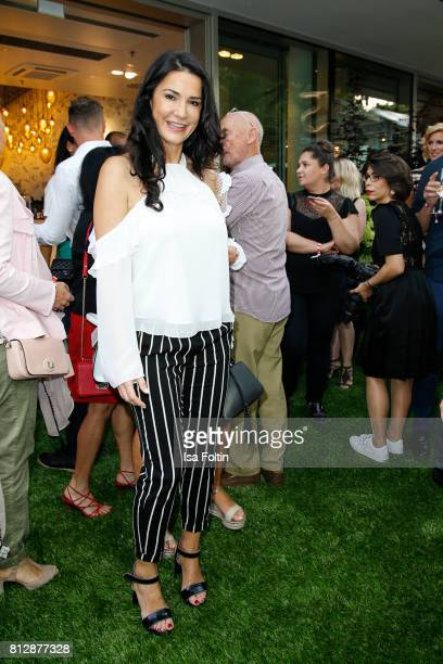 German actress Mariella Ahrens during the 'True Berlin' Hosted By Shan Rahimkhan on July 11 2017 in Berlin Germany