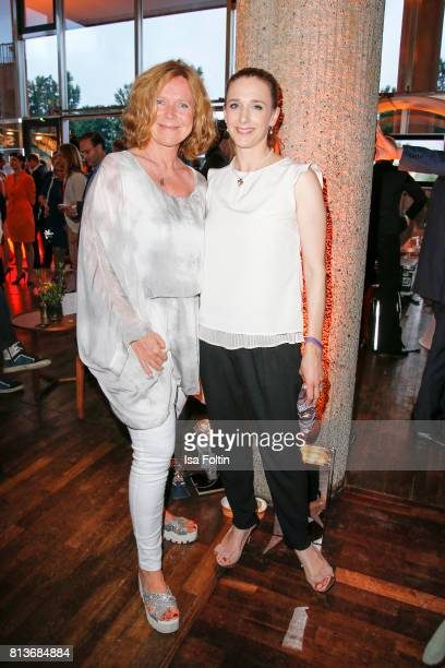 German actress Marion Kracht and German actress Kristin Meyer during the summer party 2017 of the German Producers Alliance on July 12 2017 in Berlin...