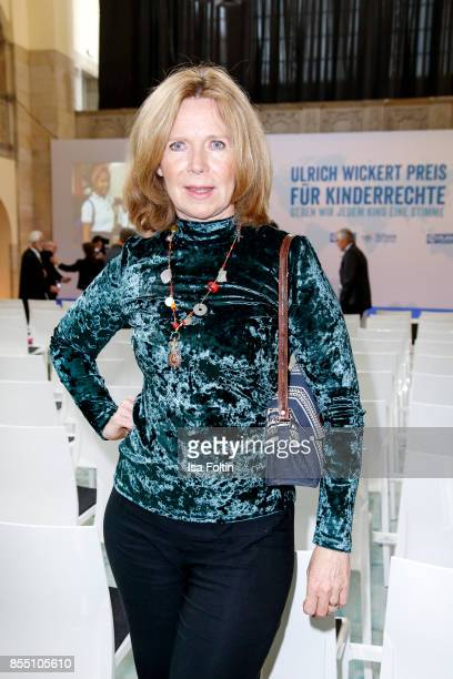 German actress Marion Kracht attends the Ulrich Wickert Award For Children's Rights at Stadtbad Oderberger on September 28 2017 in Berlin Germany