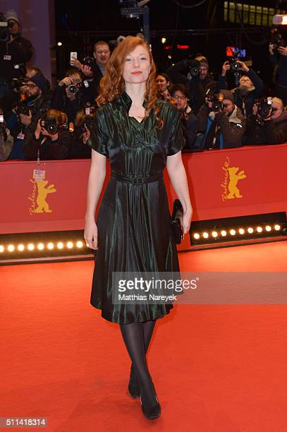 German actress Marleen Lohse attends the closing ceremony of the 66th Berlinale International Film Festival on February 20 2016 in Berlin Germany