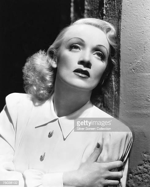 German actress Marlene Dietrich circa 1935
