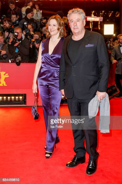 German actress Martina Gedeck and her husband Markus Imboden attend the 'Django' premiere during the 67th Berlinale International Film Festival...