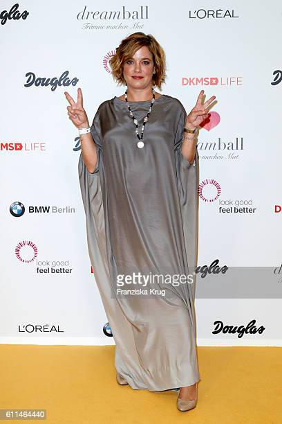 German actress Muriel Baumeister attends the Dreamball 2016 at Ritz Carlton on September 29 2016 in Berlin Germany