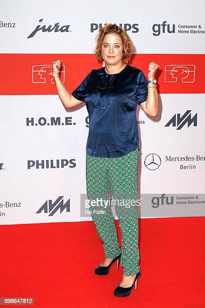 German actress Muriel Baumeister attends the IFA 2016 opening gala on September 1 2016 in Berlin Germany