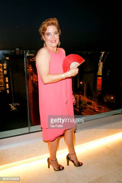 German actress Muriel Baumeister attends the Remus Lifestyle Night on August 3 2017 in Palma de Mallorca Spain