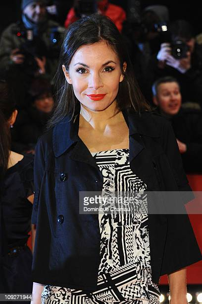 German actress Nadine Warmuth attends the 'Unknown' Premiere during day nine of the 61st Berlin International Film Festival at Berlinale Palace on...