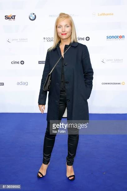 German actress Nadja Uhl attends the summer party 2017 of the German Producers Alliance on July 12 2017 in Berlin Germany