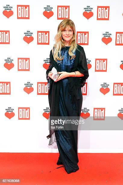 German actress Nastassja Kinski attends the Ein Herz Fuer Kinder gala on December 3 2016 in Berlin Germany