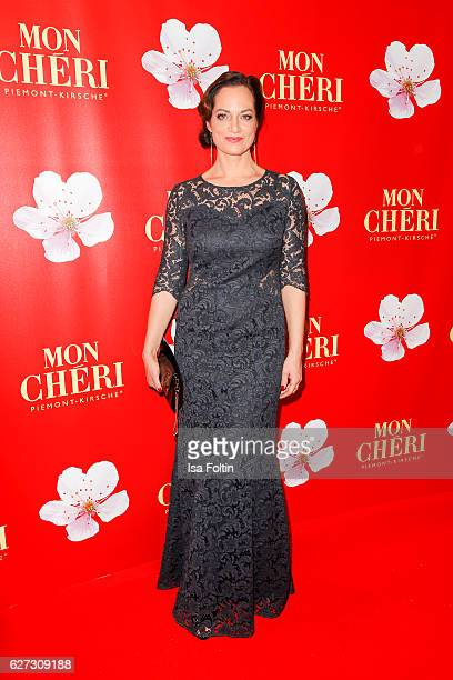 German actress Natalia Woerner attends the Mon Cheri Barbara Tag at Postpalast on December 2 2016 in Munich Germany