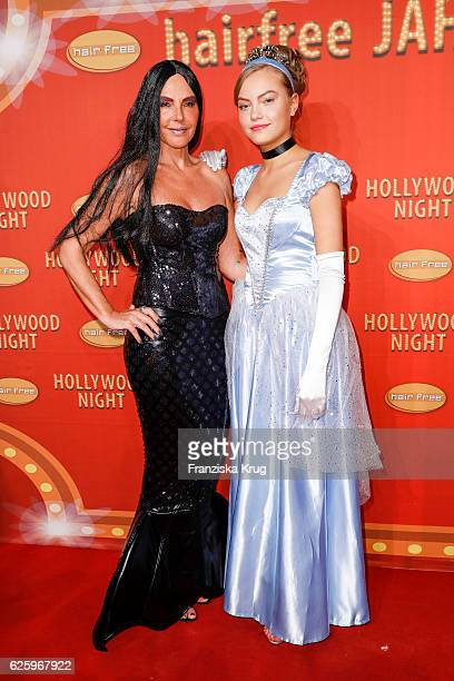 German actress Natascha Ochsenknecht and her daughter Cheyenne Savannah Ochsenknecht attend the Hollywood Superhero Fairytale Night hosted by Jens...